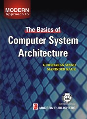 Computer System Architecture Cover Page